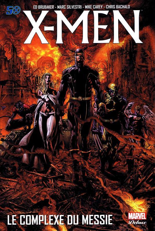 X-Men :  Le complexe du Messie (0), comics chez Panini Comics de Brubaker, Yost, Kyle, David, Silvestri, Eaton, Ramos, Bachalo, Tan, Reber, d' Armata, Finch