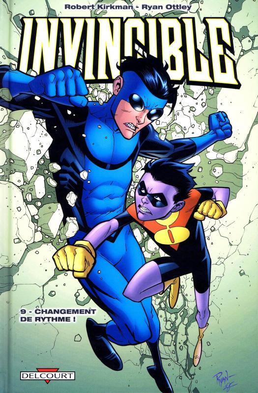 Invincible T9 : Changement de rythme ! (0), comics chez Delcourt de Kirkman, Ottley, Crabtree, FCO Plascencia