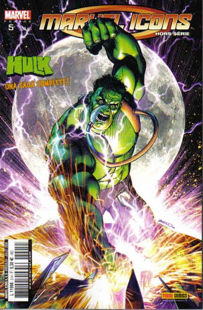 Marvel Icons - Hors série T5 : Double jeu (0), comics chez Panini Comics de Way, David, Santacruz, Cha, Kubert, Muray, Keith, Peterson