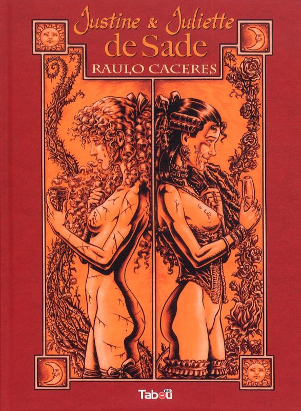 Justine et Juliette de Sade, bd chez Tabou de Caceres