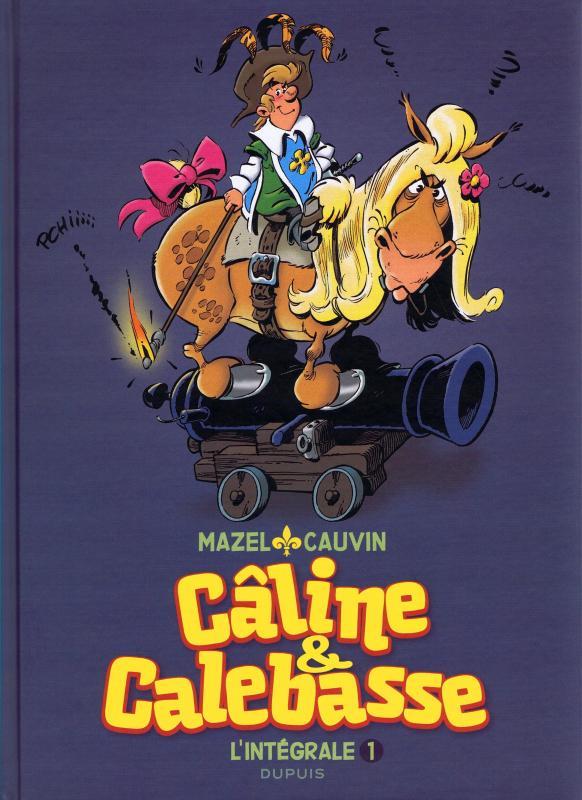 Câline et Calebasse, bd chez Dupuis de Cauvin, Mazel