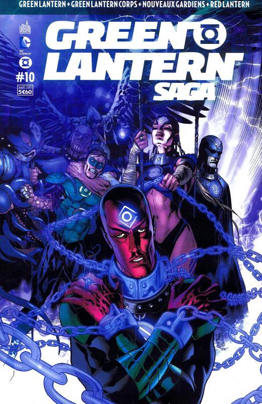 Green Lantern Saga T10, comics chez Urban Comics de Bedard, Milligan, Johns, Tomasi, Pasarin, Sepulveda, Mahnke, Giorello, Hi-fi colour, Eltaeb, Eyring