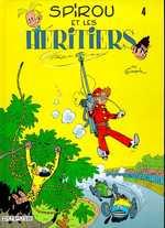 Spirou et Fantasio T4 : Les héritiers (0), bd chez Dupuis de Franquin