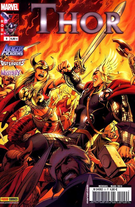 Thor – Revue V 2, T9 : Combustion totale (0), comics chez Panini Comics de Fraction, Gage, Gillen, Norton, Di Giandomenico, McKelvie, Grummet, Davis, Di Vito, Aymara, Sotomayor, Rodriguez