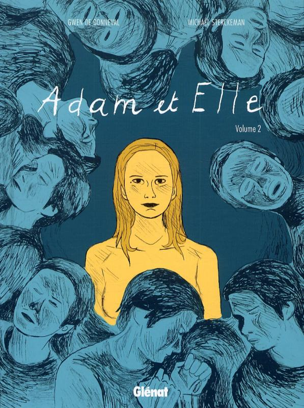 Adam & Elle T2 : Deuxième partie (0), bd chez Glénat de de Bonneval, Sterckeman