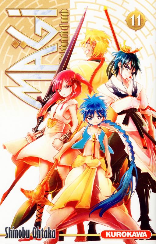 Magi, the labyrinth of magic  T11, manga chez Kurokawa de Ohtaka