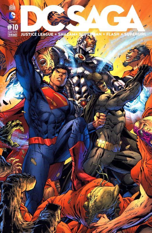 DC Saga T10, comics chez Urban Comics de Johnson, Buccellato, Johns, Jurgens, Green, Manapul, McCarthy, Lee, Merino, Asrar, To, Frank, Anderson, Herring, Horie, Horie, Eltaeb, McCaig, Sinclair, Pantazis