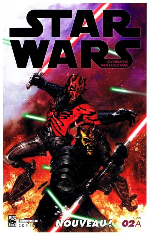 Star Wars (revue) – Comics Magazine, T2 : Boba Fett est mort ! (0), comics chez Delcourt de Taylor, Watson, Woodring, Rubio, Sheldon, Wetherell, Marangon, Scalf, Rambo, Madsen
