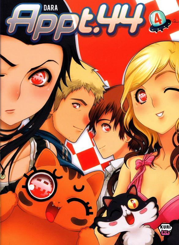 Appt.44 T4, manga chez Ankama de Dara