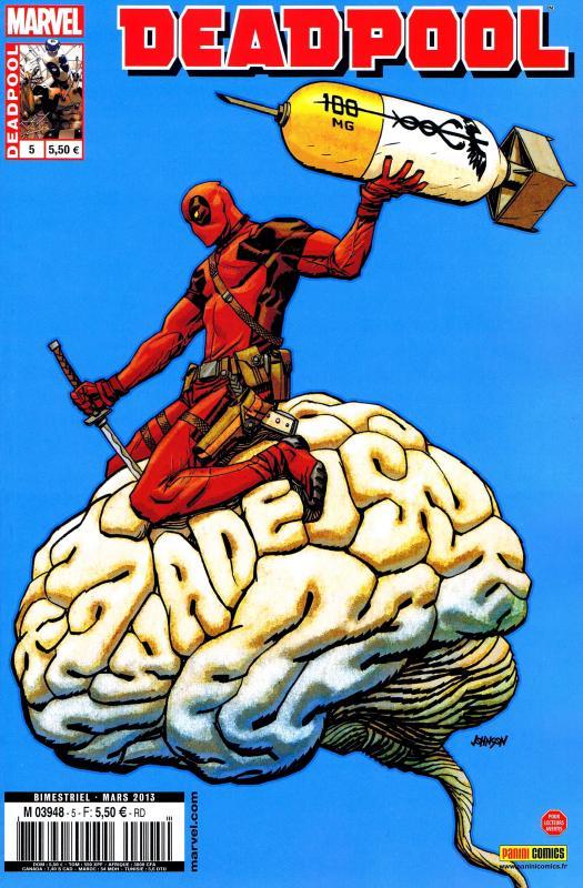 Deadpool (revue) – V 3, T5 : Tu es mon autre (0), comics chez Panini Comics de Way, Espin, Barbieri, Daniel, Guru efx, Gonzalez, Johnson