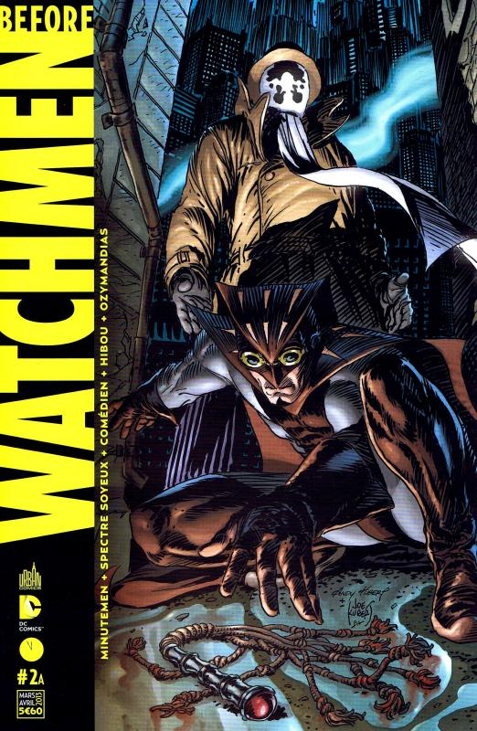 Before Watchmen T2, comics chez Urban Comics de Straczynski, Cooke, Azzarello, Wein, Conner, Kubert, Lee, Jones, Kubert, Higgins, Chung, Mounts, Anderson, Noto, Sinclair, Lee