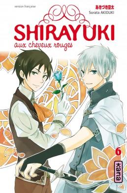 Shirayuki aux cheveux rouges T6, manga chez Kana de Akizuki