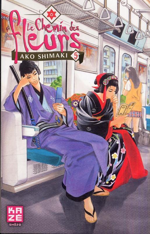 Le Chemin des fleurs T5, manga chez Kazé manga de Shimaki