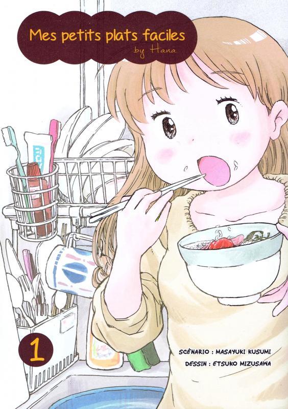 Mes petits plats faciles by Hana T1, manga chez Komikku éditions de Kusumi, Mizusawa
