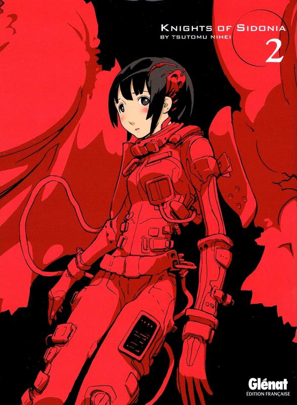 Knights of Sidonia T2, manga chez Glénat de Nihei