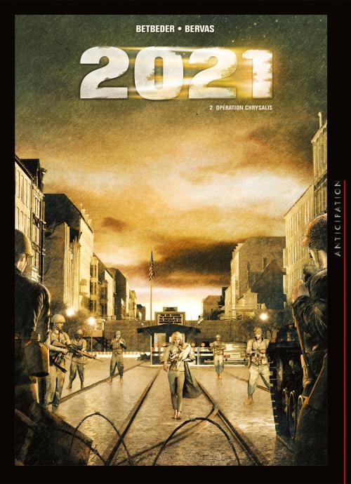 2021 T2 : Le Secret le mieux gardé des États-Unis d'Amérique (0), bd chez Soleil de Betbeder, Bervas, Digikore studio