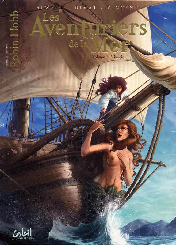 Les Aventuriers de la mer T1 : Vivacia (0), bd chez Soleil de Alwett, Dimat, Vincent, Demare