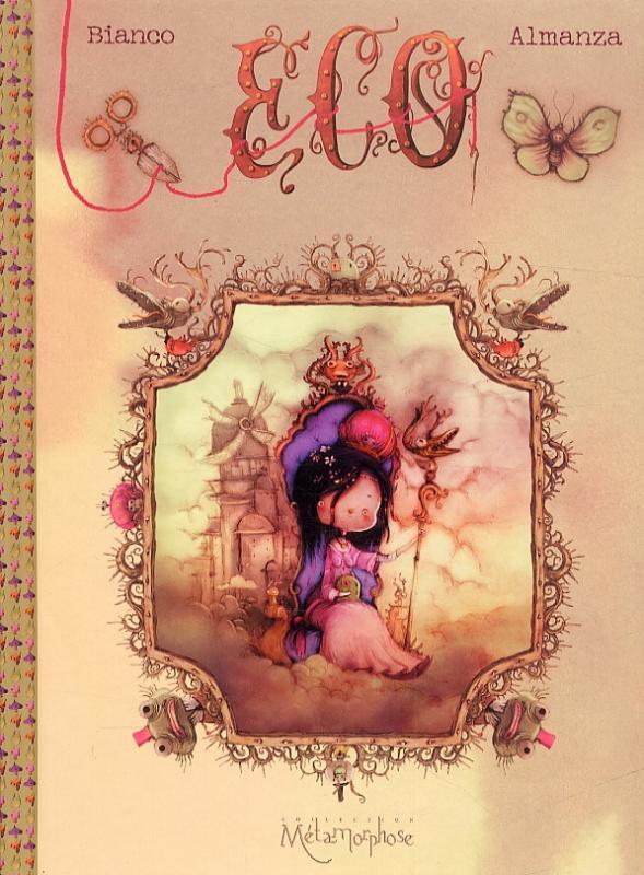 Eco T3 : La princesse des nuages (0), bd chez Soleil de Bianco, Almanza