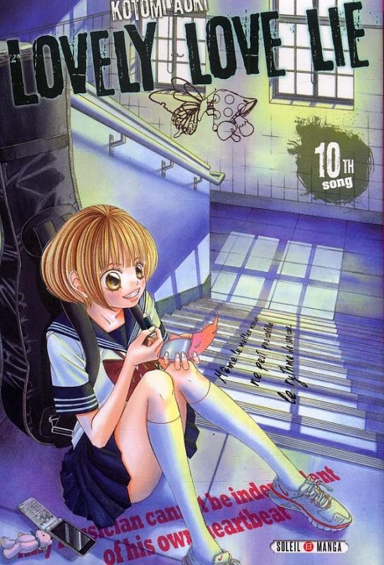 Lovely love lie T10, manga chez Soleil de Aoki