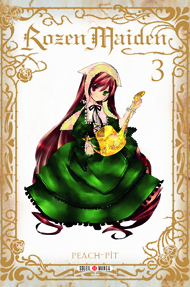 Rozen maiden – Saison 1, T3, manga chez Soleil de Peach-Pit