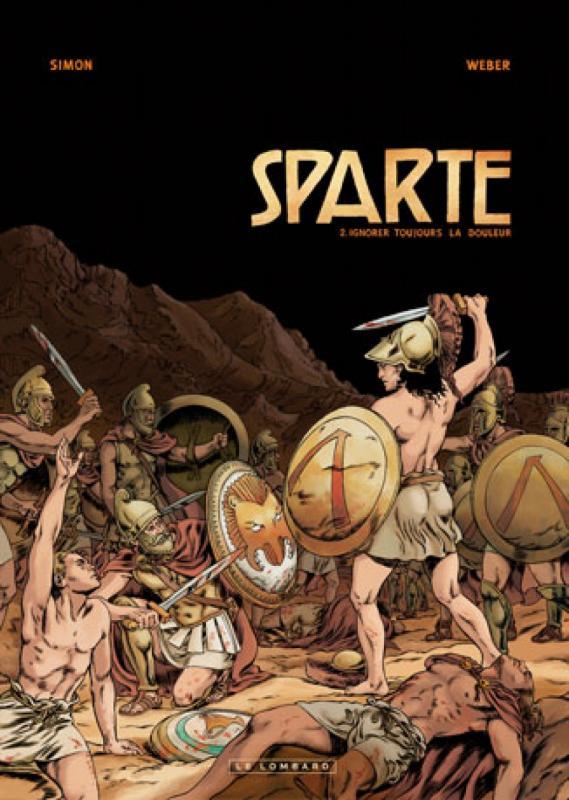 Sparte T2 : Ignorer toujours la douleur (0), bd chez Le Lombard de Weber, Simon, de Vuyst, Carpentier