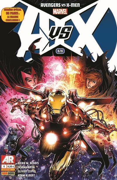 Avengers vs X-Men T6, comics chez Panini Comics de Aaron, Bendis, Coipel, Kubert, Martin, Ponsor, Cheung, Granov