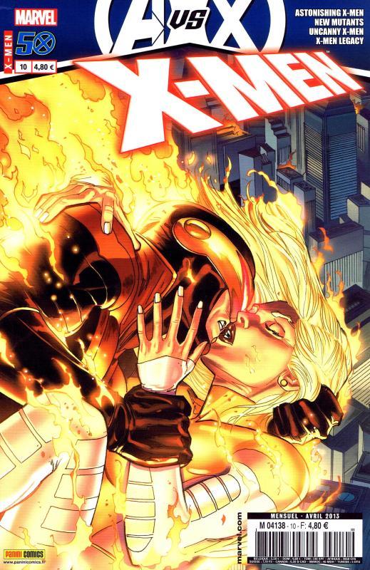 X-Men (revue) – V 3, T10 : Point de rupture (0), comics chez Panini Comics de Gage, Abnett, Gillen, Lanning, Klebs, Garney, Ruiz, Sandoval, Bobillo, Eaglesham, Rosenberg, Milla, Staples