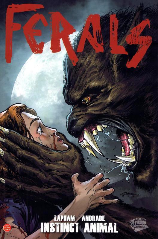 Ferals T1 : Instinct animal (0), comics chez Panini Comics de Lapham, Andrade Jr, Digikore studio