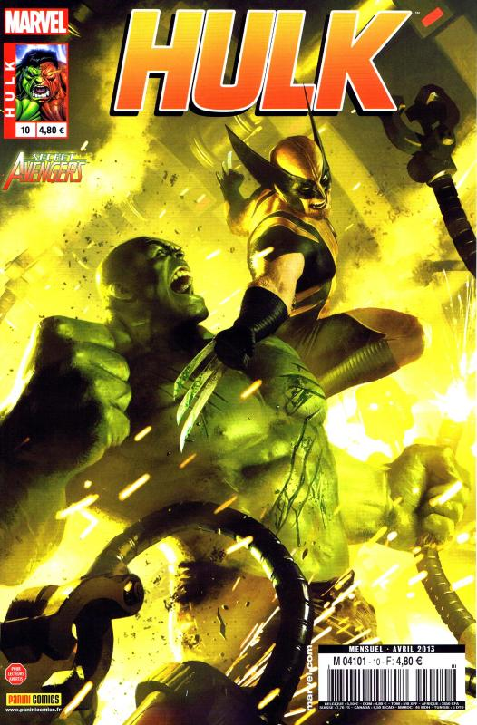 Hulk – Revue V 2, T10 : Remplir un trou noir (0), comics chez Panini Comics de Remender, Parker, Aaron, Scalera, Pacheco, Kuhn, Eaglesham, Martin jr, Staples, Wilson, Komarck