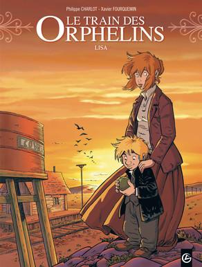 Le Train des orphelins – cycle 2, T3 : Lisa (0), bd chez Bamboo de Charlot, Fourquemin, Smulkowski
