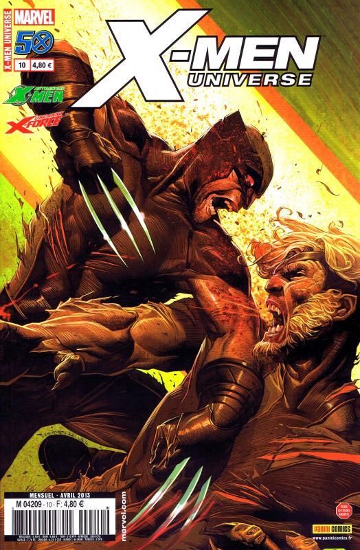 X-Men Universe – Revue V 2, T10 : Humain (0), comics chez Panini Comics de Wood, Remender, Liu, Perkins, Noto, Lopez, Martin jr, Ramos, Rosenberg, White, Opeña