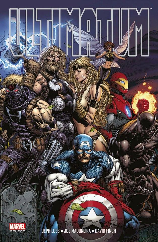 Ultimatum, comics chez Panini Comics de Cebulski, Loeb, Finch, Charest, Madureira, Ponsor, Firchow, Guru efx, Lichtner, Steigerwald