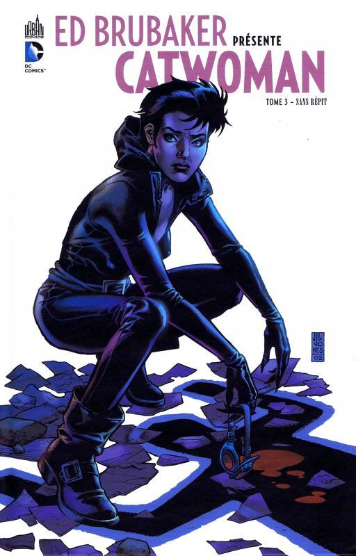 Ed Brubaker présente Catwoman T3 : Sans répit (0), comics chez Urban Comics de Brubaker, Pulido, Stewart, Hollingsworth, Jones