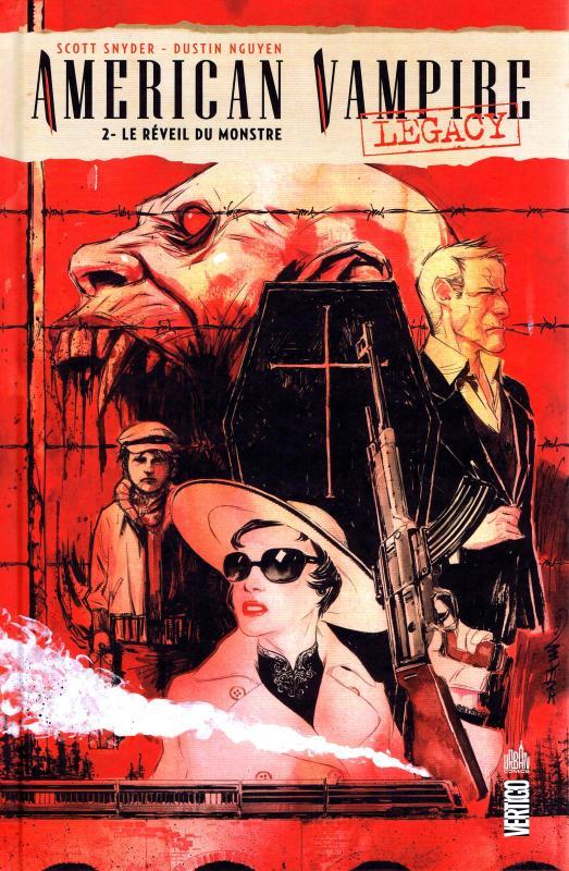 American Vampire Legacy T2 : Le réveil du monstre (0), comics chez Urban Comics de Snyder, Nguyen, Kalisz