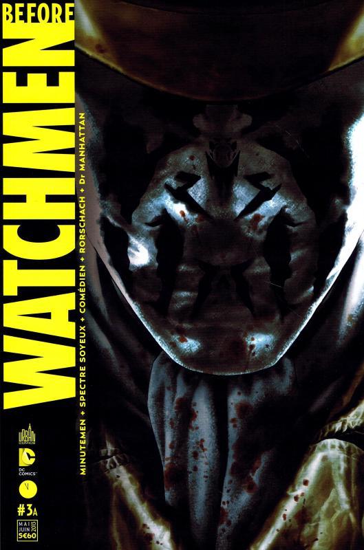 Before Watchmen T3, comics chez Urban Comics de Azzarello, Wein, Cooke, Conner, Higgins, Straczynski, Hughes, Bermejo, Jones, Sinclair, Noto, Mounts, Ciardo, Martin
