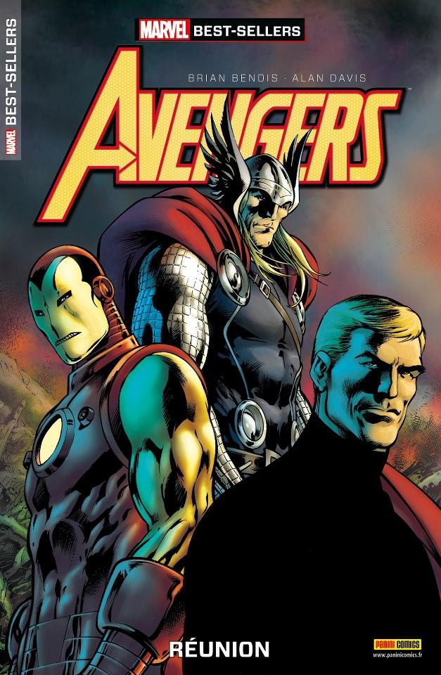 Marvel Best-Sellers T2 : Avengers - Réunion (0), comics chez Panini Comics de Bendis, Davis, Rodriguez