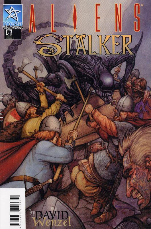Aliens : Stalker + Wraith, comics chez Wetta de Wenzel, Stephens, Risso
