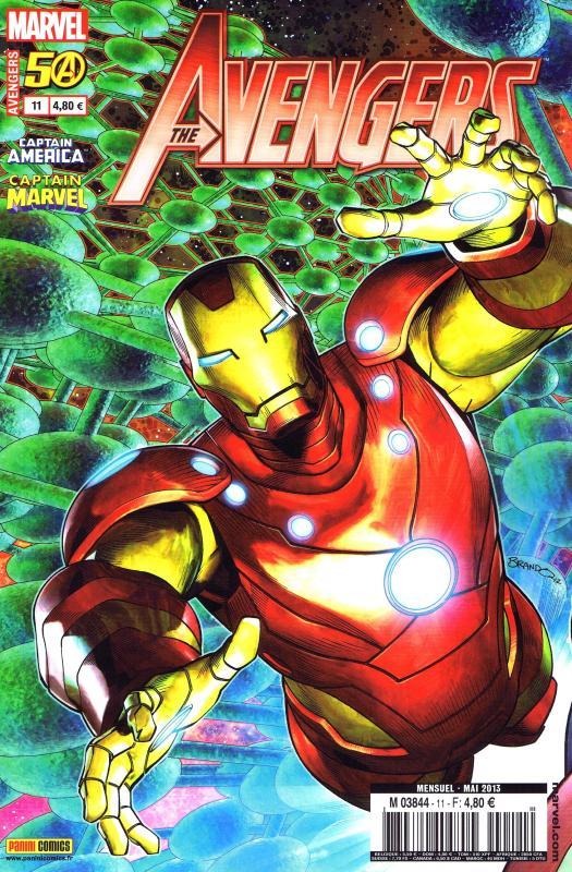 The Avengers (revue) – V 3, T11 : Rêve brisé (0), comics chez Panini Comics de Bunn, Bendis, Deconnick, Brubaker, Eaton, Rios, Peterson, Mayhew, Keith, Bellaire, Guru efx