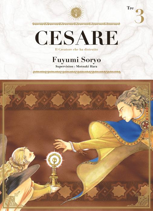 Cesare T3, manga chez Ki-oon de Hara, Soryo