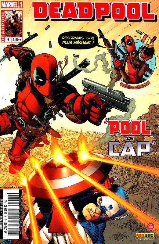 Deadpool (revue) – V 3, T6 : Méchant Deadpool (0), comics chez Panini Comics de Way, Espin, McCrea, Guru efx, Gandini, Bradshaw
