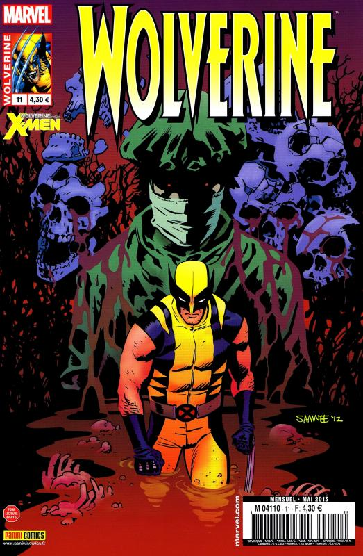 Wolverine (revue) – Revue V 3, T11 : Le grand bal de la fin du monde (0), comics chez Panini Comics de Bunn, Aaron, Pelletier, Molina, Meikis, Smith, Lee, Hollowell, Rosenberg, Beredo, Samnee
