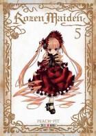 Rozen maiden – Saison 1, T5, manga chez Soleil de Peach-Pit