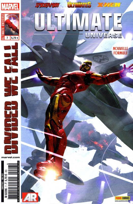 Ultimate Universe T7 : Divisés, nous perdrons (0), comics chez Panini Comics de Humphries, Wood, Bendis, Brown, Medina, Tan, Green, Marquez, Ponsor, Gracia, Noor, Milla, Komarck