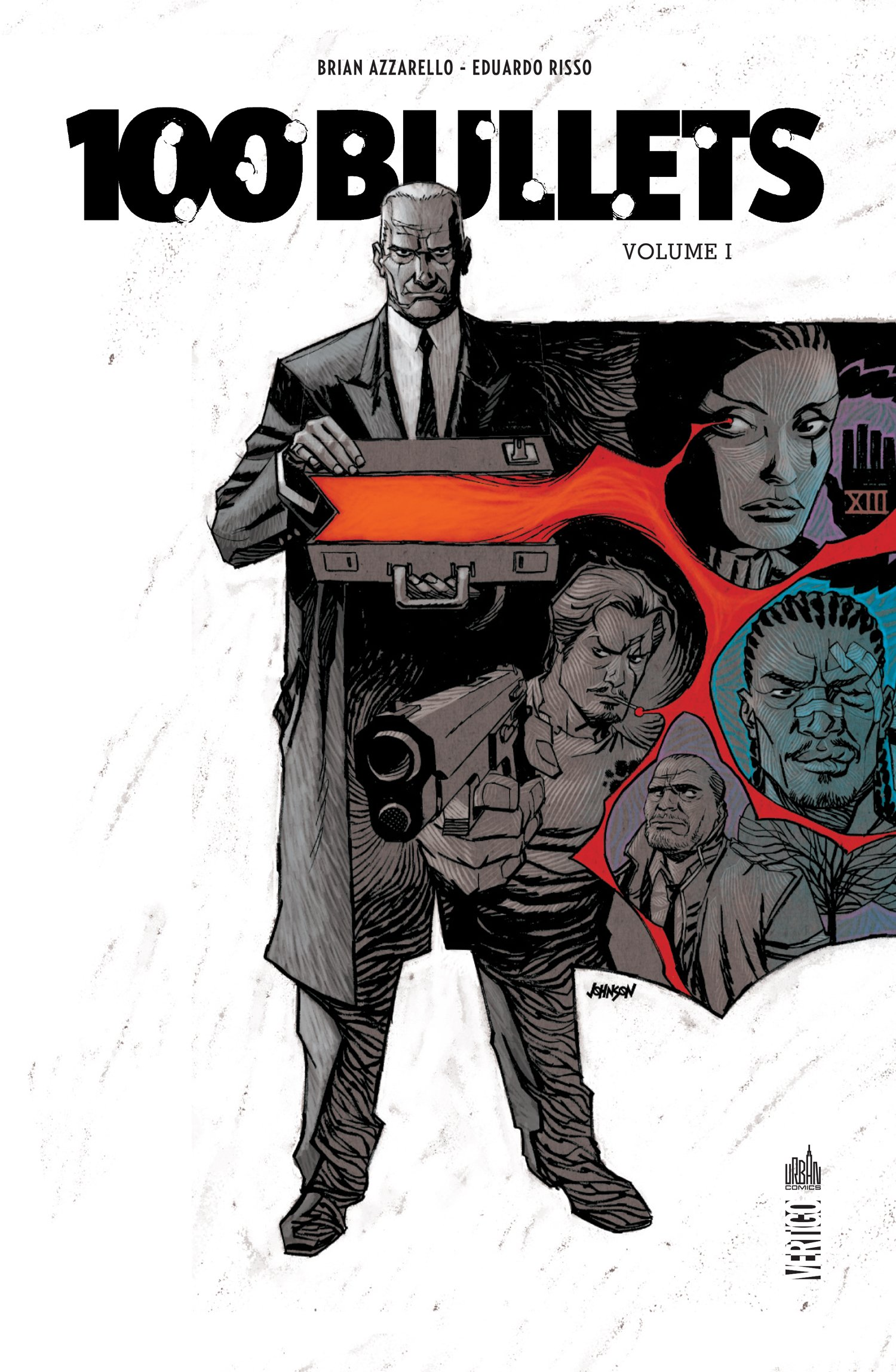100 Bullets T1, comics chez Urban Comics de Azzarello, Risso, Mulvihill, Goleash, Johnson