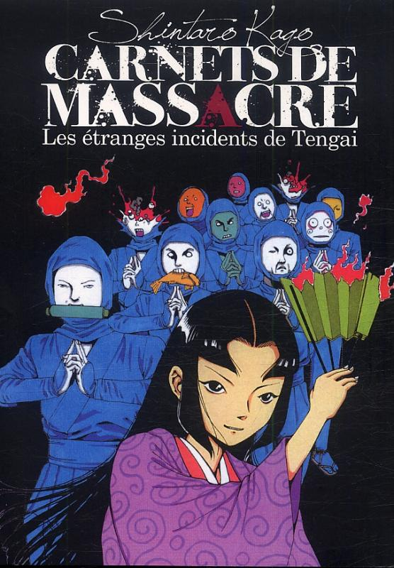 Carnets de massacre - les étranges incidents de Tengai, manga chez IMHO de Kago