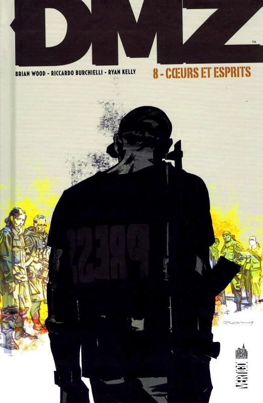 DMZ – Edition Hardcover, T8 : Cœurs et esprits (0), comics chez Urban Comics de Wood, Burchielli, Kelly, Cox, Leon