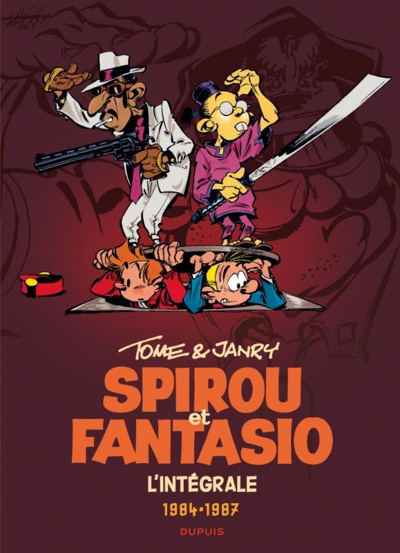 Spirou et Fantasio T14 : 1984-1987 (0), bd chez Dupuis de Tome, Janry, de Becker