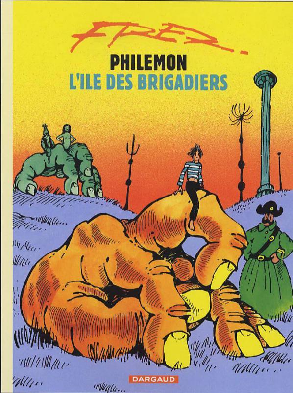 Philémon T6 : L'île des brigadiers (0), bd chez Dargaud de Fred