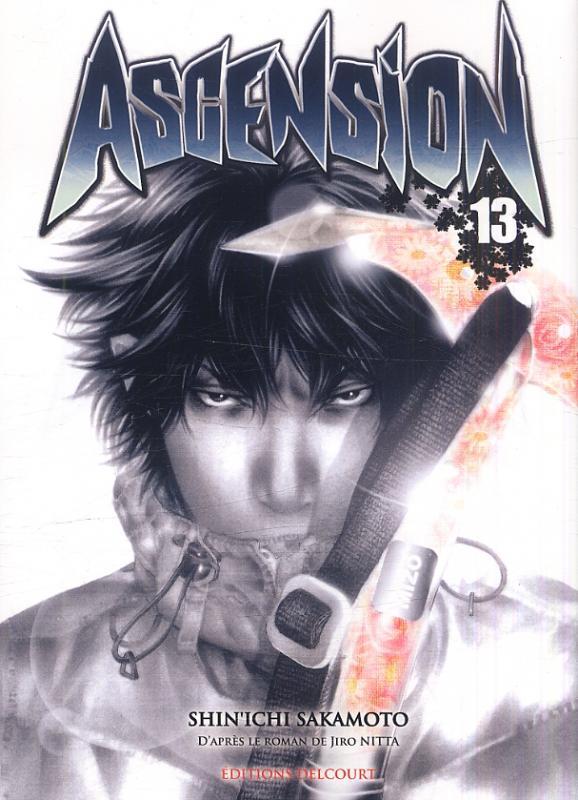 Ascension T13, manga chez Delcourt de Nitta, Sakamoto, Nabeta