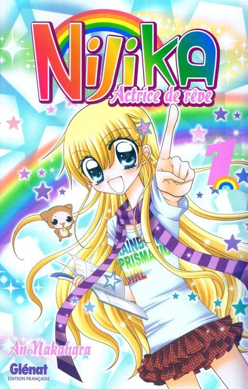 Nijika actrice de rêve T1, manga chez Glénat de Nakahara
